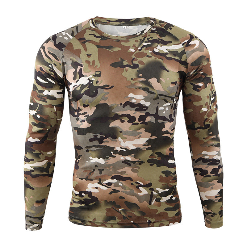 Camouflage Army Style Men's Shirt