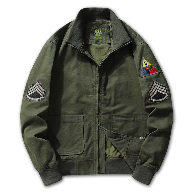 Fashion Army Style  Airforce Element Men's Jacket