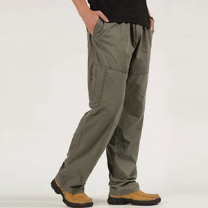 Casual Wear Multi-Pocket Plus Size Cargo Pant