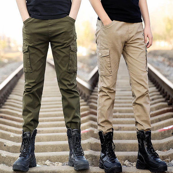New Casual Wear Men's Cargo Pant Army Style