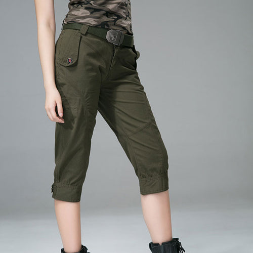 Army Style Women Short Pant