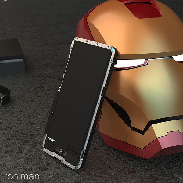 Gorgeous Three Layers Ironman Element Phone Case For Galaxy Note 8