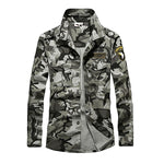 100% Cotton Airborne Army Style Long Sleeve Men's Shirt