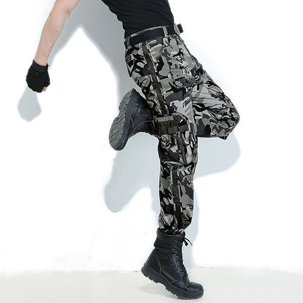 Army Style Multi-Pocket Cargo Pant