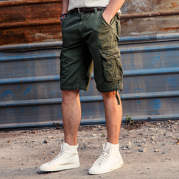 Multi Pockets Straight Summer Wear Short Pant