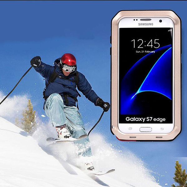 Snow Dirty and Shock Proof Phone Case For  Galaxy S7 edge
