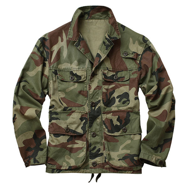 Army Style 100% Cotton Thick Heavy Causal Leisure Tank Jacket