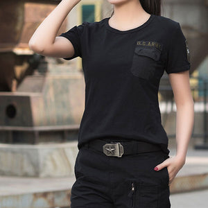 US Army Style Women T-Shirt