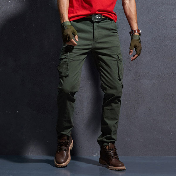 Men's Side Pockets Casual Wear Cargo Pant