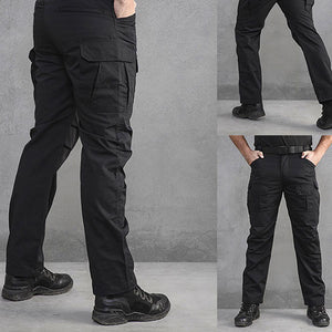 Fine Fabric Multi-Pocket Men's Cargo Pant