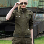 Classic Army Element Women 100% Cotton Coat