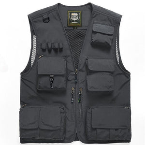 Men's Functional Vest For Sports and Outdoors