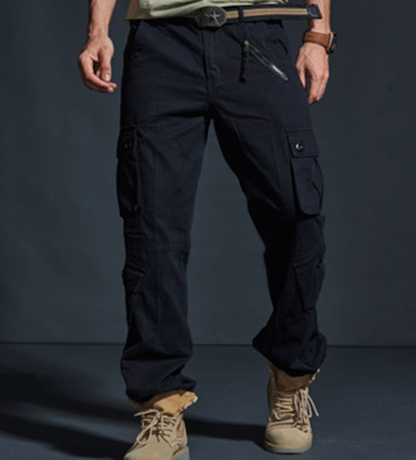 Men's Multi-Pockets Casual Wear Cargo Jogger Pant
