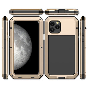 Ultra Protection Three Layered Aluminum Metal Phone Case For iPhone 11/ 11PRO/ 11PRO MAX
