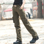 Women Casual Wear Army Element 100% Cotton Multi-Pocket Pant