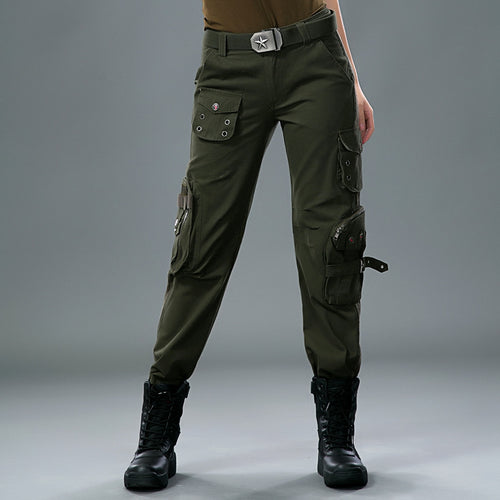 Women Army Style Pant Large Size Available