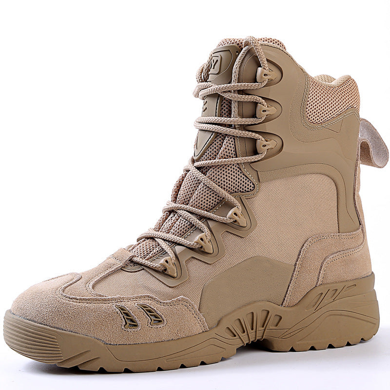 Men's Army Style Combat Hiking Boots