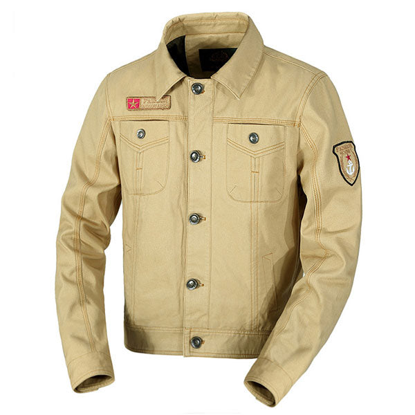Army Style Daily Wear Men's Jacket Large Size