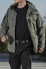 High Qulaity Men's Tactical Trench Coat