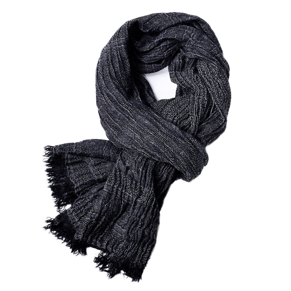 Simple Tassel Element Men's Scarf