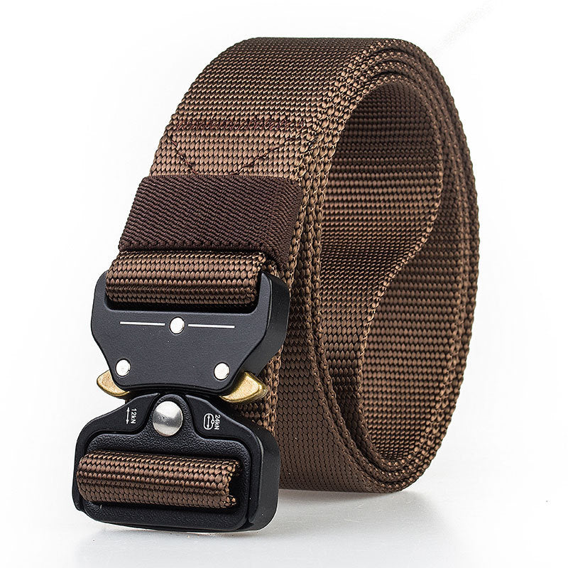 Classic Quick Unlock Tactical Nylon Belt