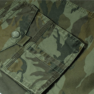 Camouflage Cargo Casual Short Pant