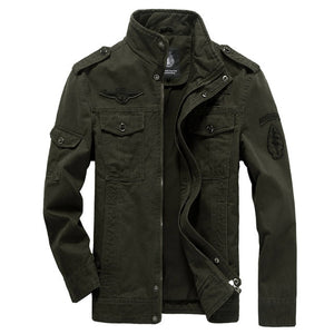 Casual Military Army Jacket Size M-6XL