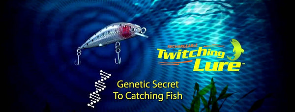 NEW Fishing Technology Rechargeable Twitching Fishing Lure