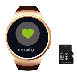 Top Quality Alloy Case Gold 8GB Smart Watch