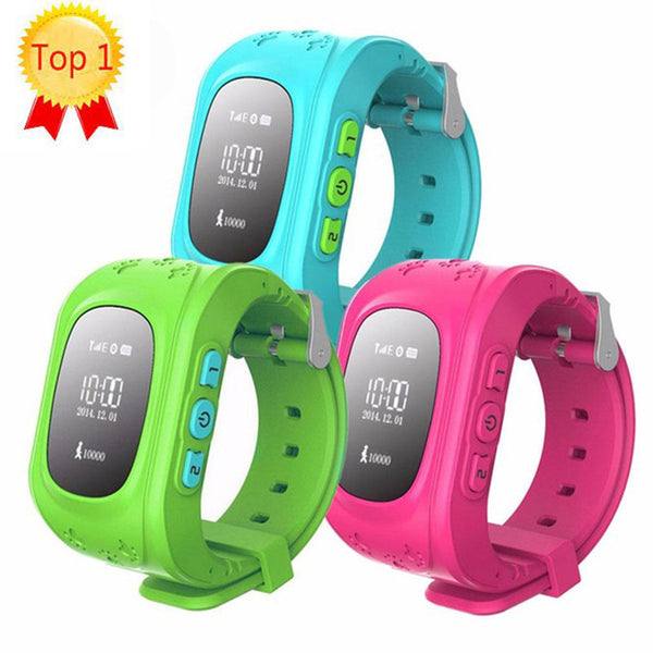 Hot Top Quality GPS Smart Kid Safe Anti Lost Baby Monitor Smart Watch SOS Call Location Tracker