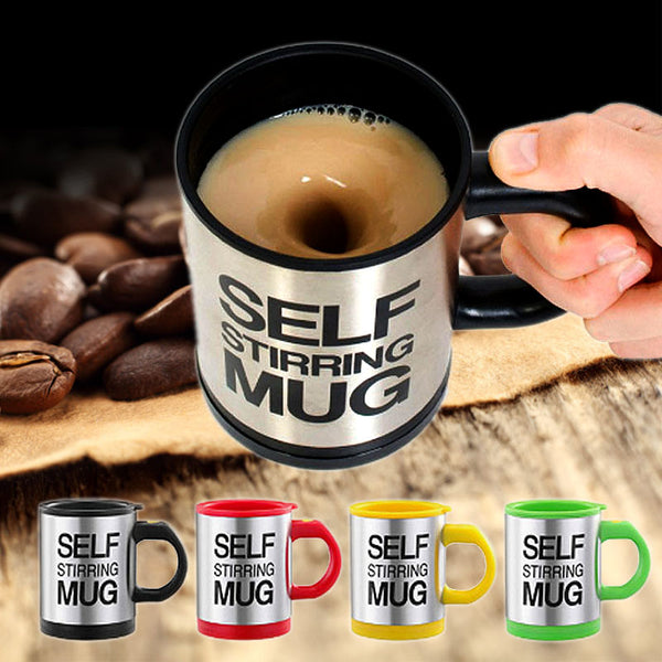NEW Self Stirring Double Insulated Mug