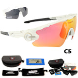 Sports Polarized Cycling Sunglasses (3 x Lens)