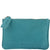 Village Soft Leather Purse in Turquoise