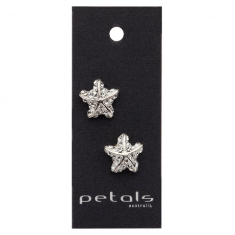Sparkle Starfish Earrings