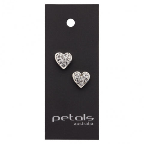 Heart Sparkle Earring