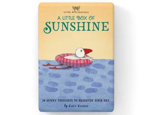 Gift Set of Inspirational Cards - A Little Box of Sunshine