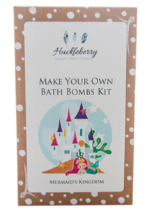 Make Your Own Bath Bombs Kit - Mermaid Kingdom