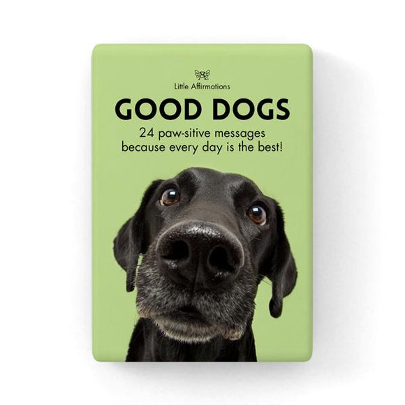 Gift Set of Inspirational Cards - Good Dogs