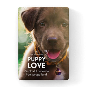 Gift Set of Inspirational Cards - Puppy Love