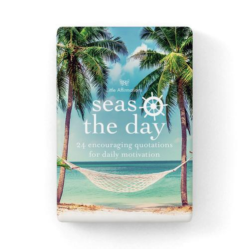 Gift Set of Inspirational Cards - Seas The Day