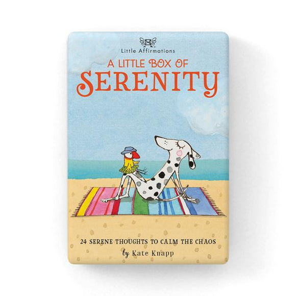 Gift Set of Inspirational Cards - A Little Box of Serenity