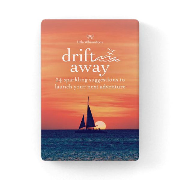Gift Set of Inspirational Cards - Drift Away