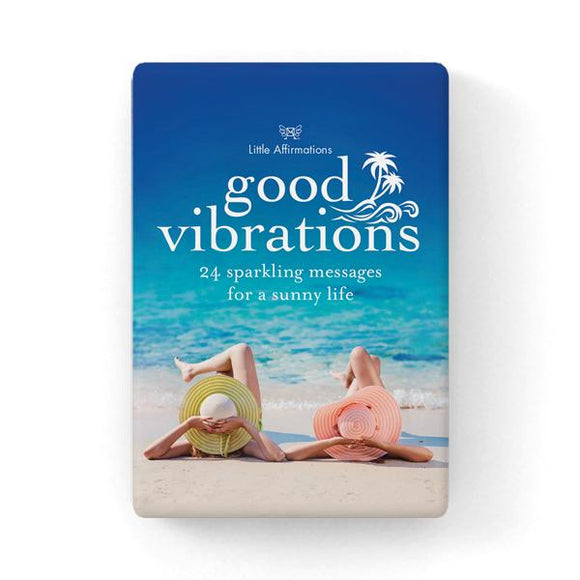 Gift Set of Inspirational Cards - Good Vibrations