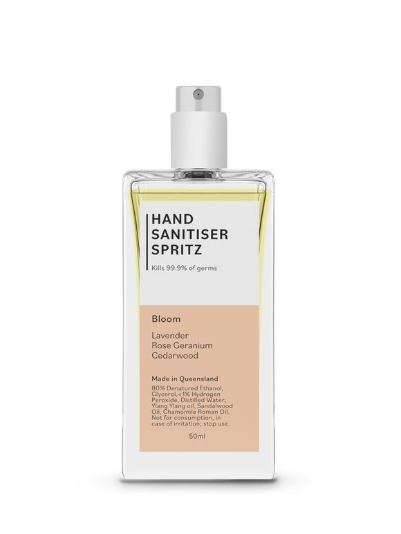 Hand Sanitiser Spritz - Bloom