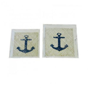 Anchor Serving Trays Set of 2