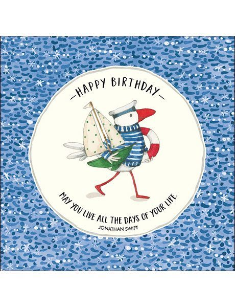 K175 Happy Birthday Card