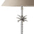 Small Nickel Pineapple Lamp - Taupe