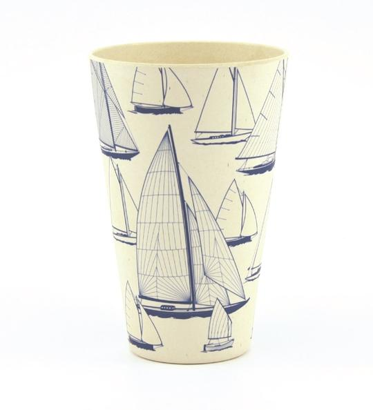 Bamboo Tumbler 'Sail Away'