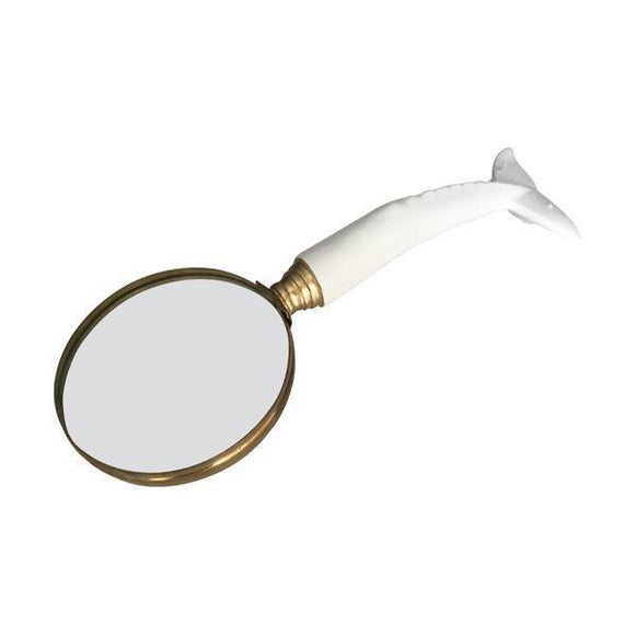 White Whale Tail Magnifying Glass