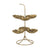 Alto Metal Gold Six Bowl Leaf Stand